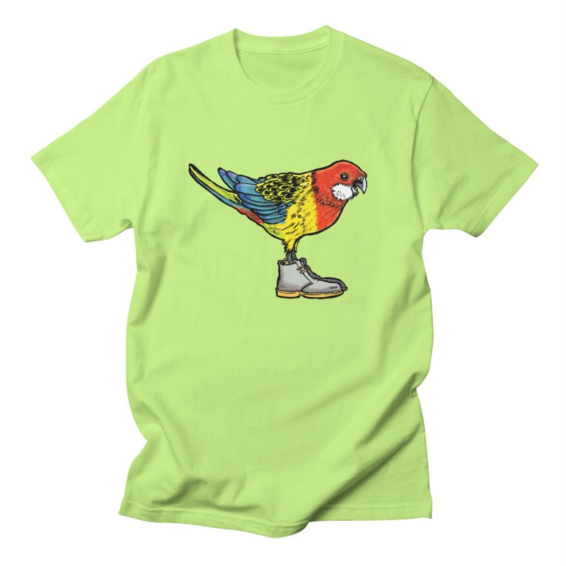 Rosella Women's Regular Unisex T-Shirt by Simon Christopher Greiner