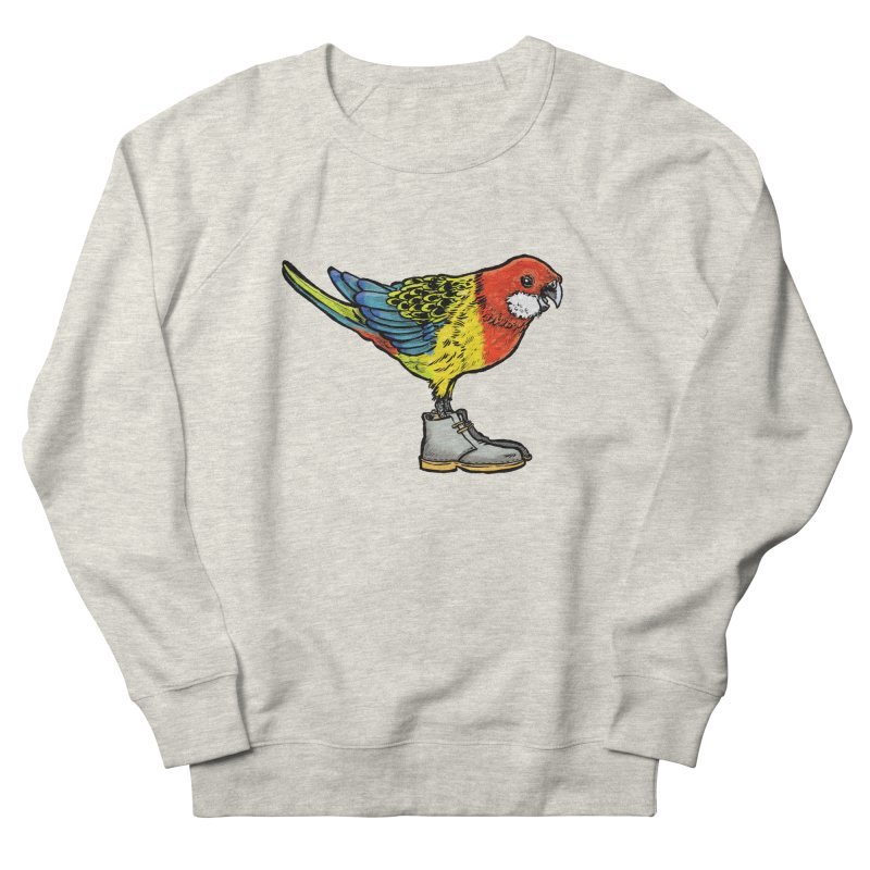 Rosella Women's French Terry Sweatshirt by Simon Christopher Greiner