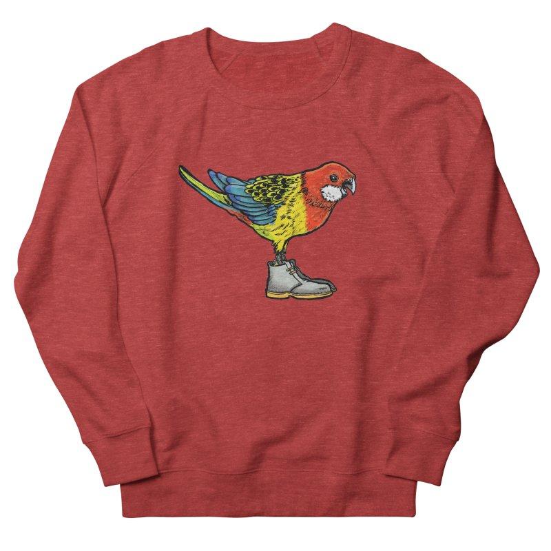 Rosella Men's French Terry Sweatshirt by Simon Christopher Greiner