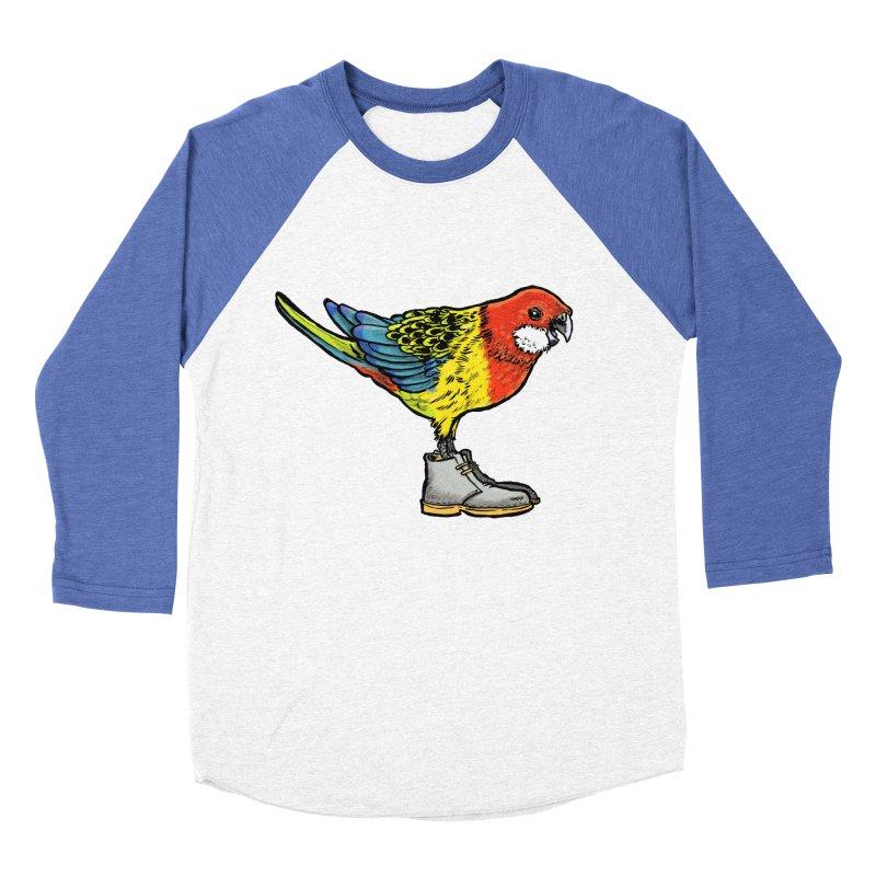 Rosella Women's Baseball Triblend Longsleeve T-Shirt by Simon Christopher Greiner