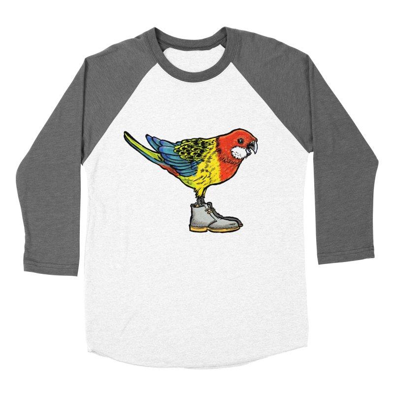 Rosella Women's Baseball Triblend T-Shirt by Simon Christopher Greiner