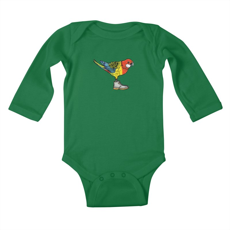 Rosella Kids Baby Longsleeve Bodysuit by Simon Christopher Greiner