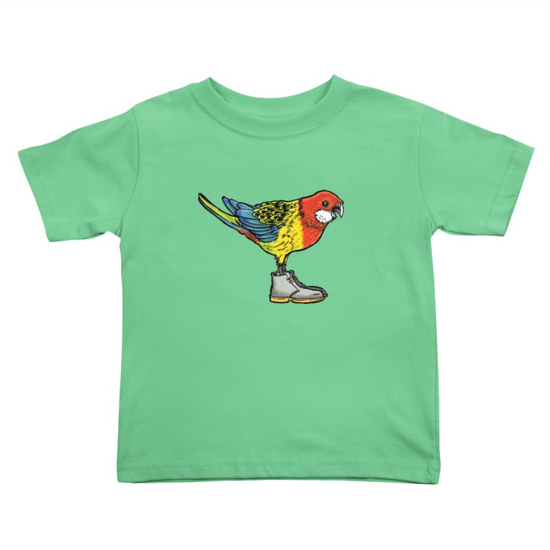 Rosella Kids Toddler T-Shirt by Simon Christopher Greiner