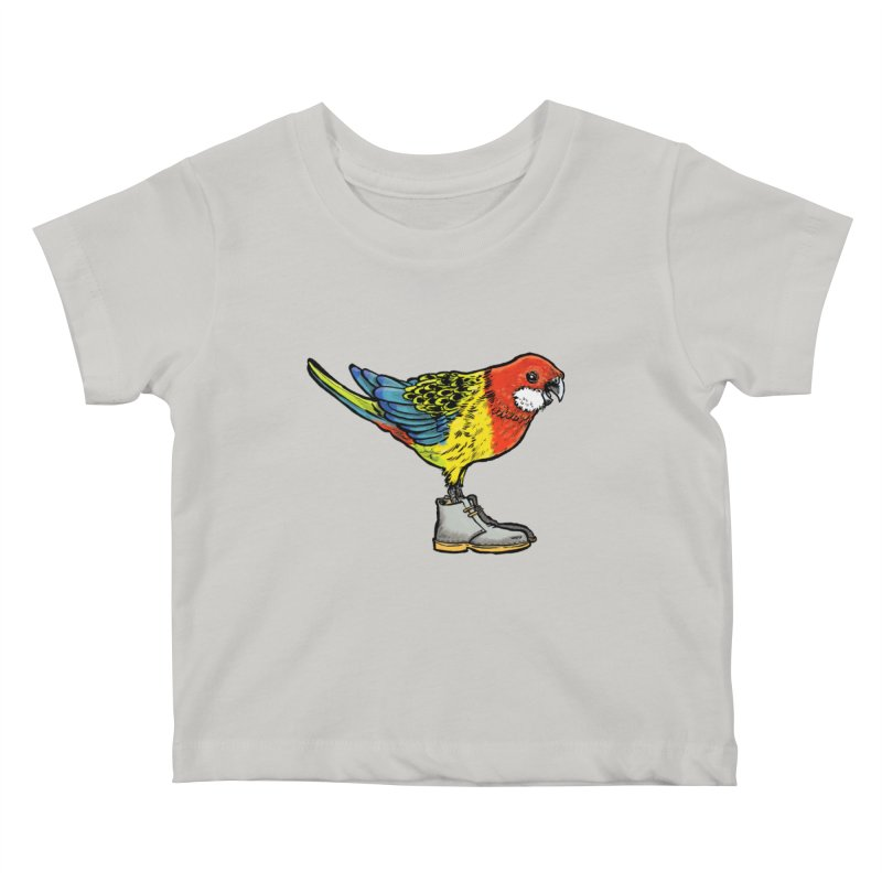 Rosella Kids Baby T-Shirt by Simon Christopher Greiner
