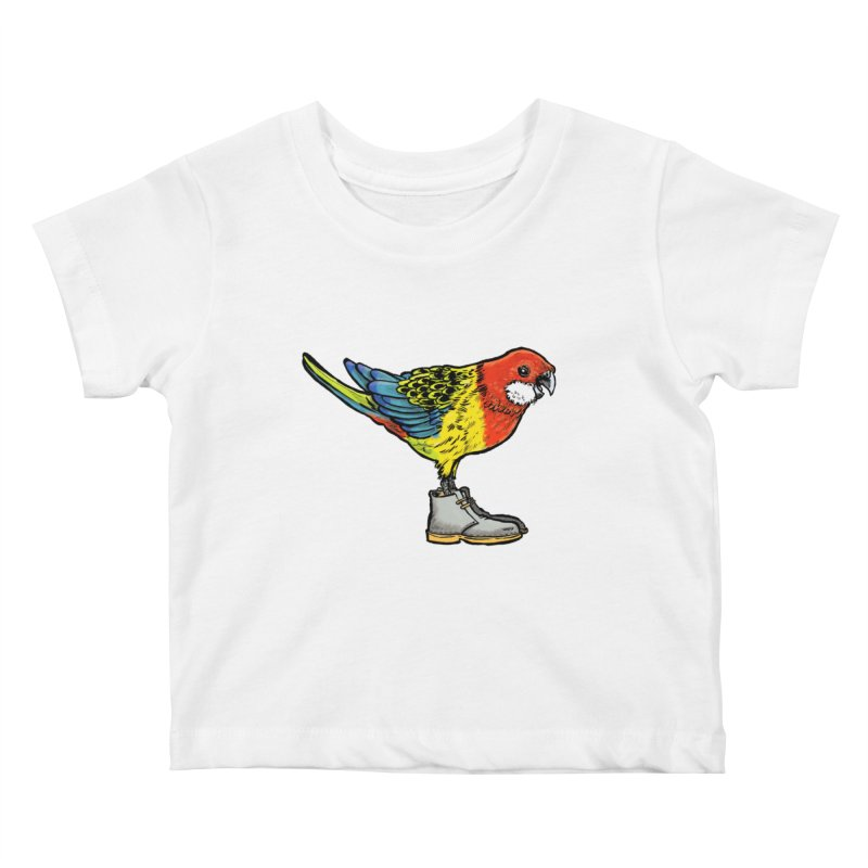 Rosella Kids Baby T-Shirt by Simon Christopher Greiner