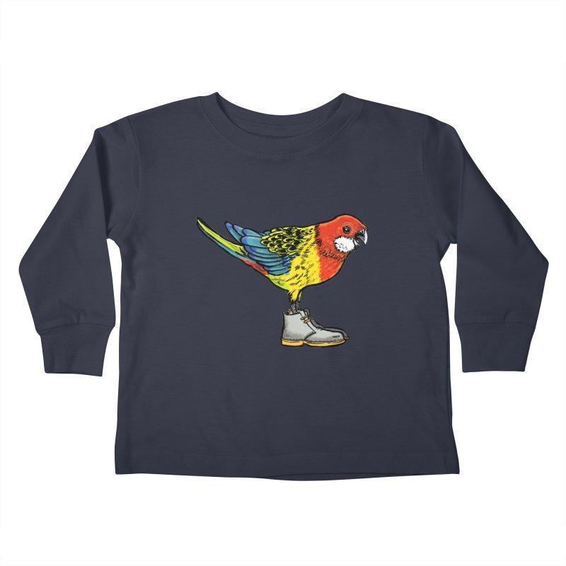 Rosella Kids Toddler Longsleeve T-Shirt by Simon Christopher Greiner