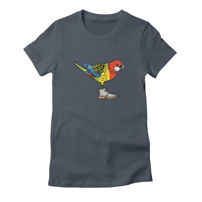 Rosella Women's T-Shirt by Simon Christopher Greiner