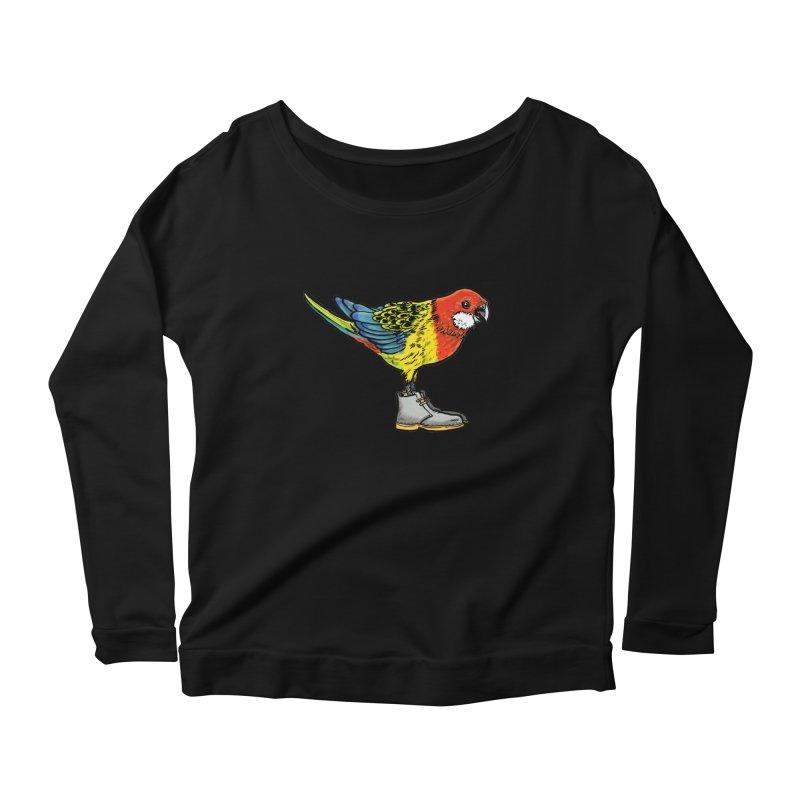 Rosella Women's Scoop Neck Longsleeve T-Shirt by Simon Christopher Greiner