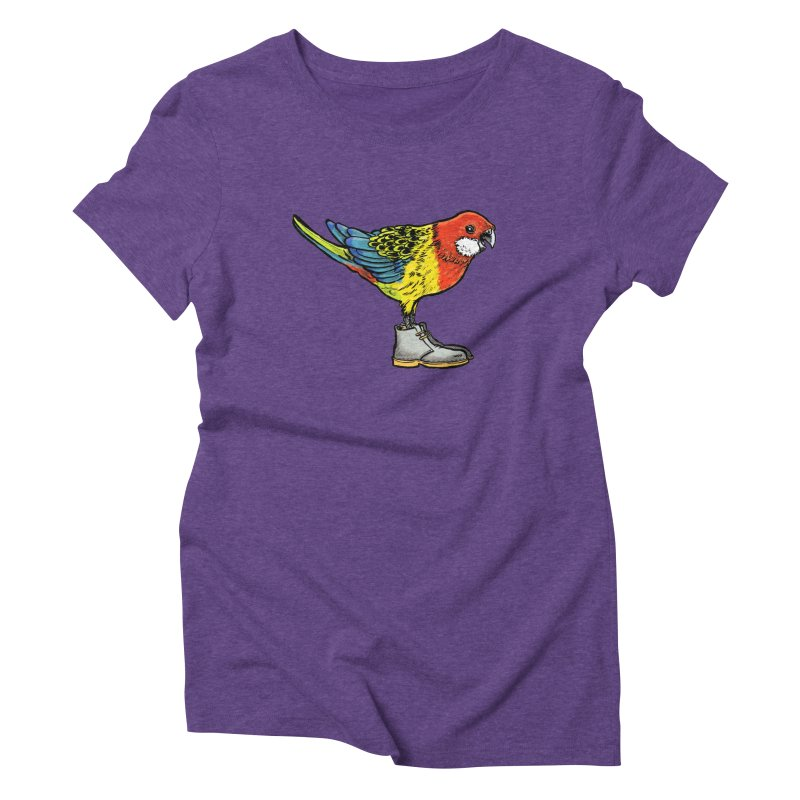 Rosella Women's Triblend T-Shirt by Simon Christopher Greiner