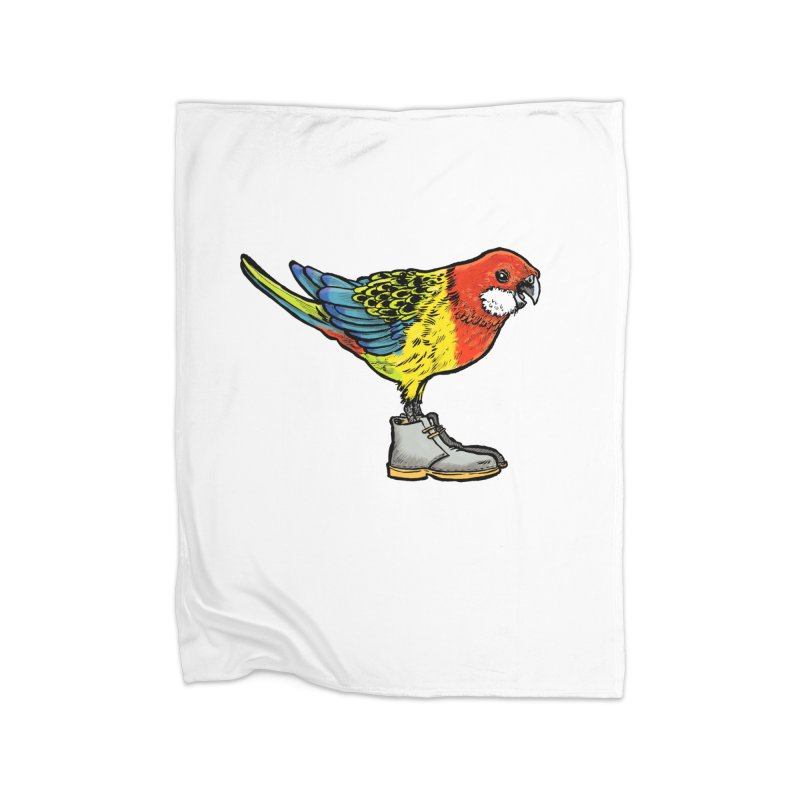 Rosella Home Fleece Blanket Blanket by Simon Christopher Greiner