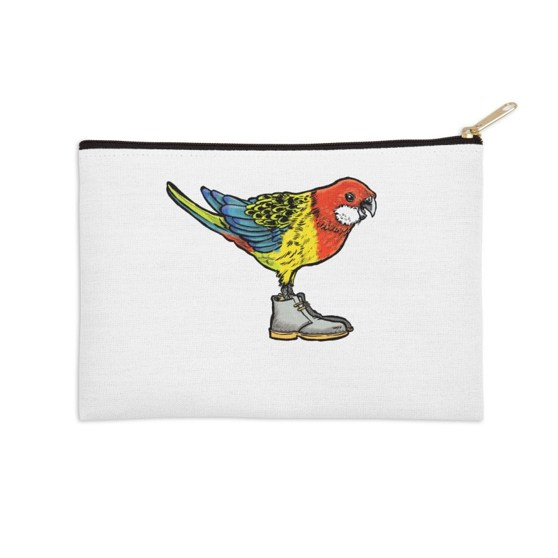 Rosella Accessories Zip Pouch by Simon Christopher Greiner