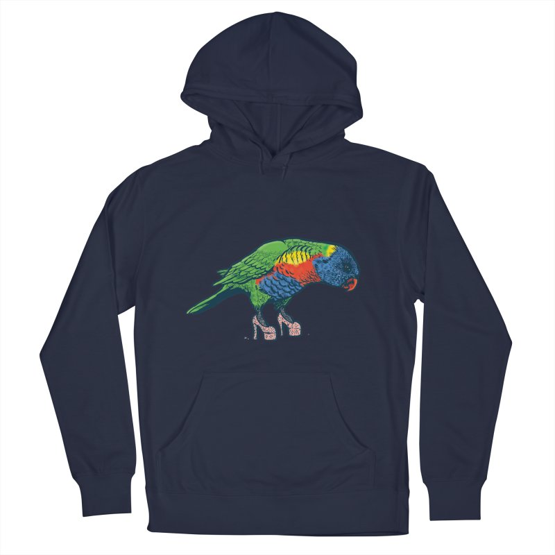 Lorikeet Women's Pullover Hoody by Simon Christopher Greiner