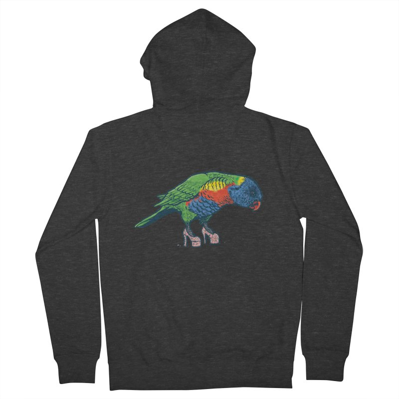 Lorikeet Women's Zip-Up Hoody by Simon Christopher Greiner