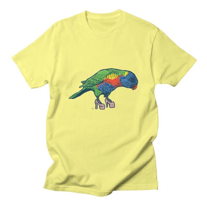 Lorikeet Women's T-Shirt by Simon Christopher Greiner