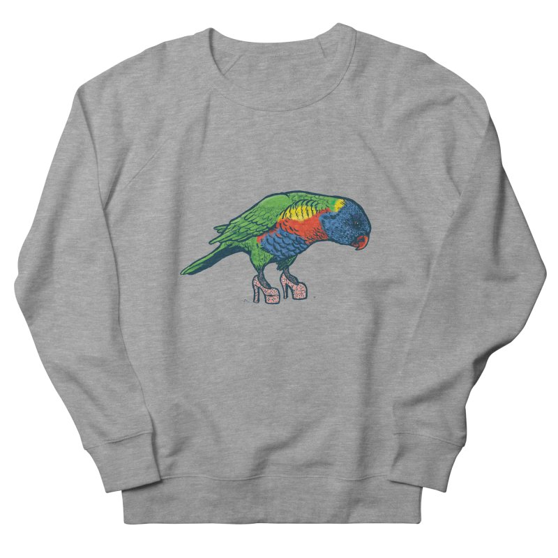 Lorikeet Women's French Terry Sweatshirt by Simon Christopher Greiner