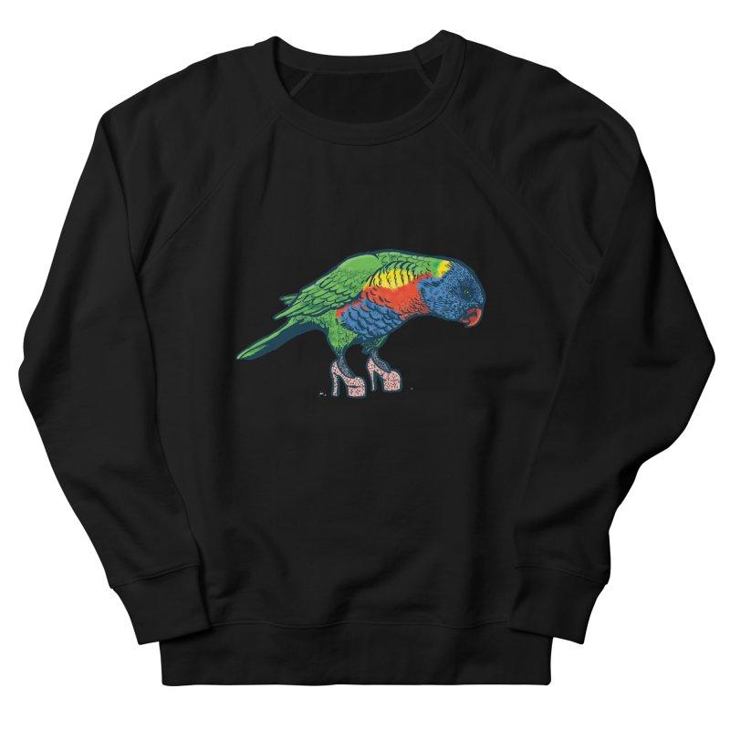 Lorikeet Men's Sweatshirt by Simon Christopher Greiner