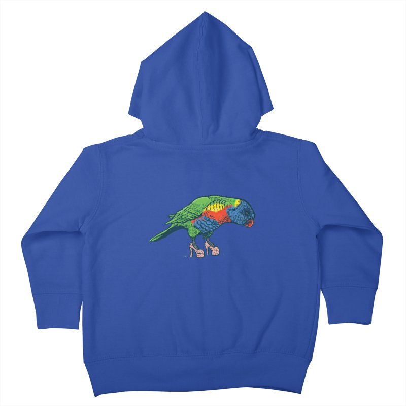 Lorikeet Kids Toddler Zip-Up Hoody by Simon Christopher Greiner