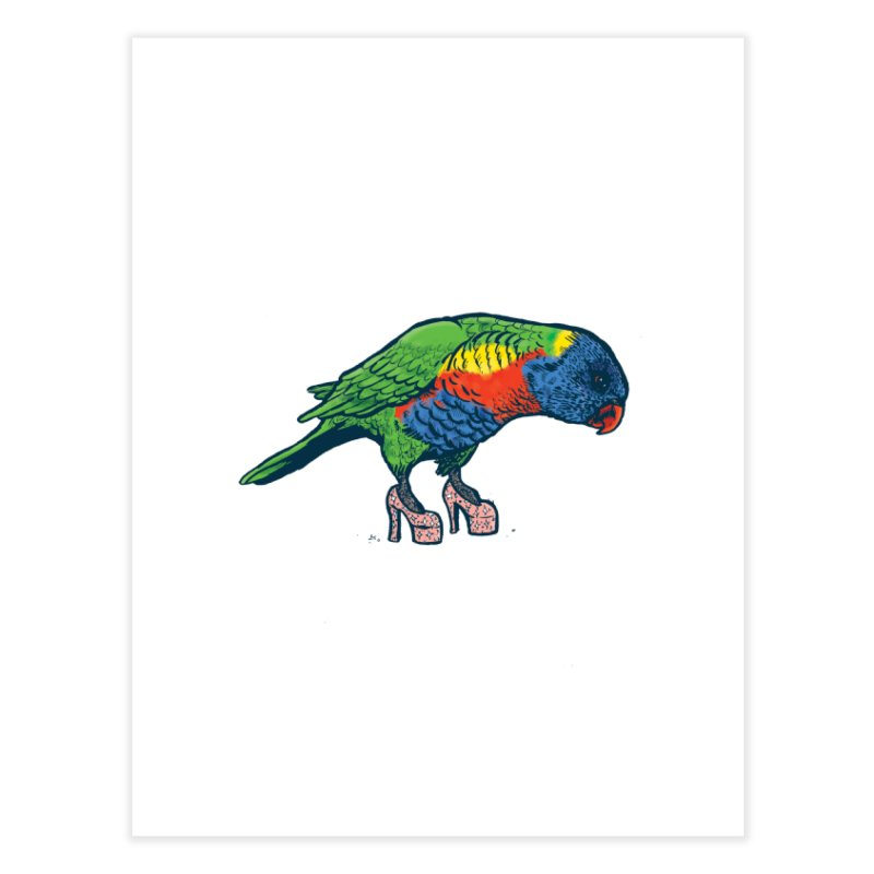 Lorikeet Home Fine Art Print by Simon Christopher Greiner