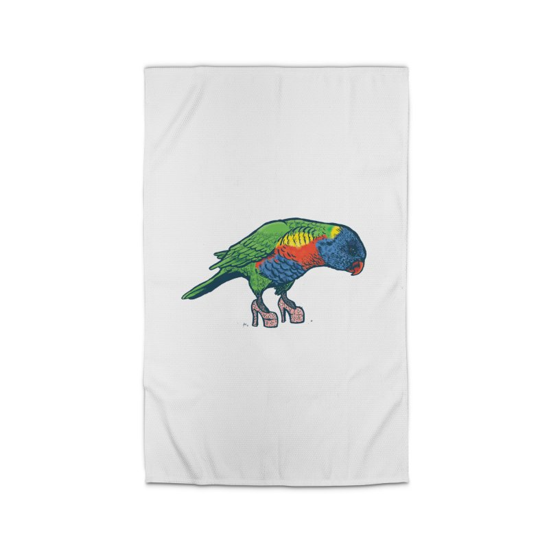 Lorikeet Home Rug by Simon Christopher Greiner