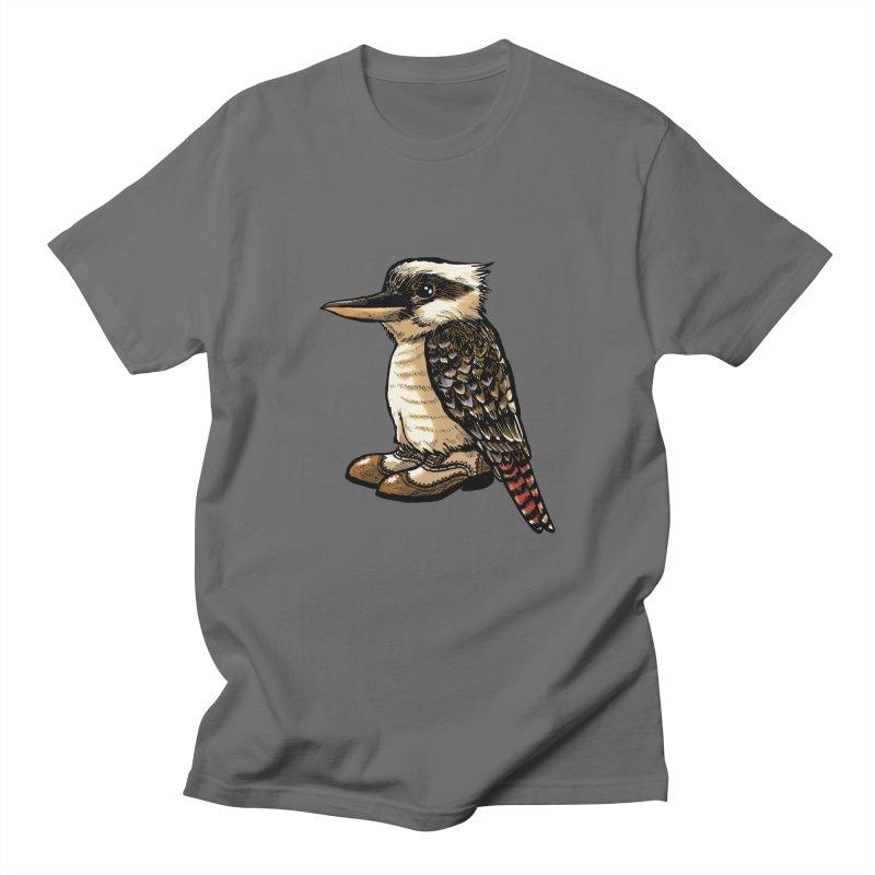 Kookaburra Men's T-Shirt by Simon Christopher Greiner