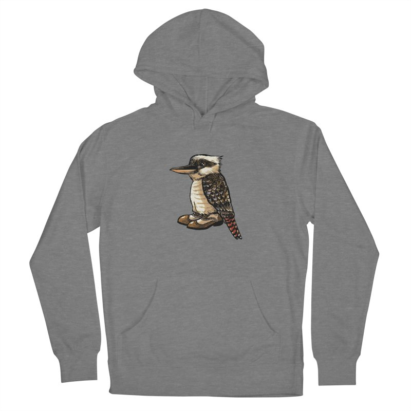 Kookaburra Men's Pullover Hoody by Simon Christopher Greiner
