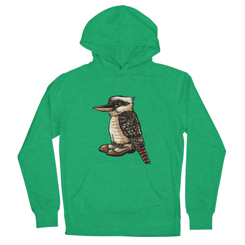 Kookaburra Women's French Terry Pullover Hoody by Simon Christopher Greiner