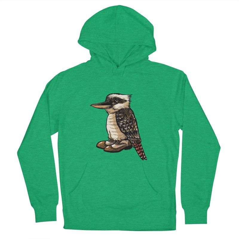 Kookaburra Men's French Terry Pullover Hoody by Simon Christopher Greiner