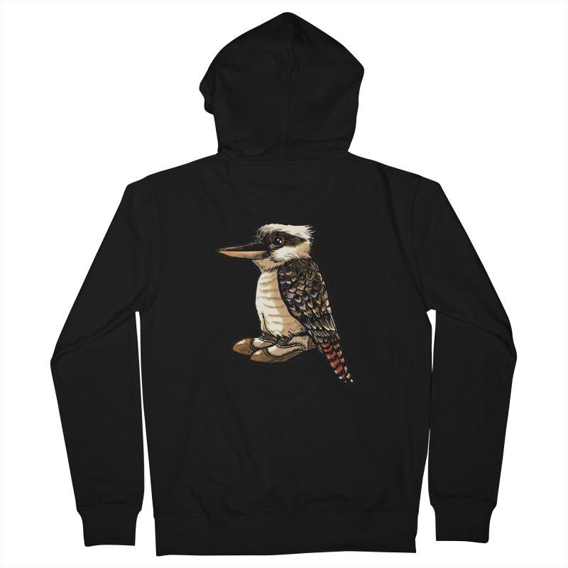 Kookaburra Women's French Terry Zip-Up Hoody by Simon Christopher Greiner