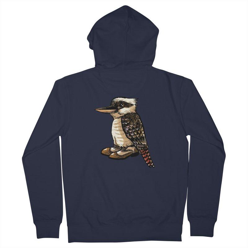 Kookaburra Women's Zip-Up Hoody by Simon Christopher Greiner
