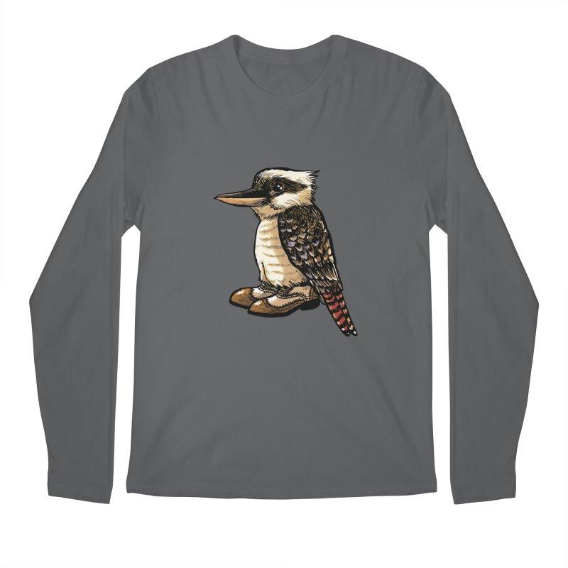 Kookaburra Men's Longsleeve T-Shirt by Simon Christopher Greiner