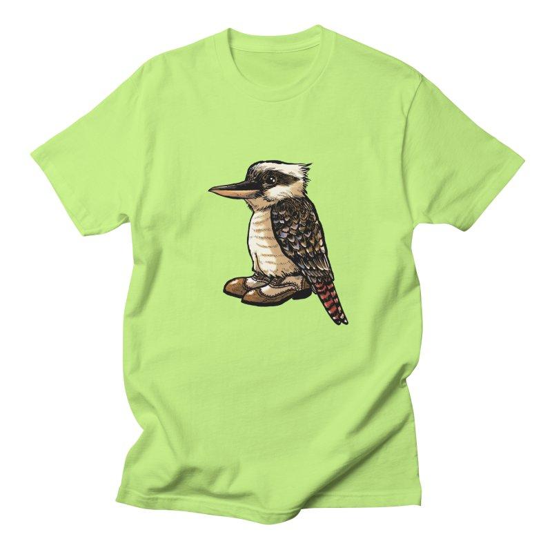 Kookaburra Women's Regular Unisex T-Shirt by Simon Christopher Greiner