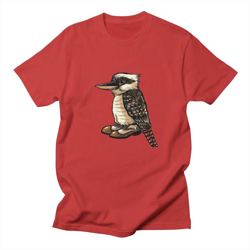 Kookaburra Men's Regular T-Shirt by Simon Christopher Greiner