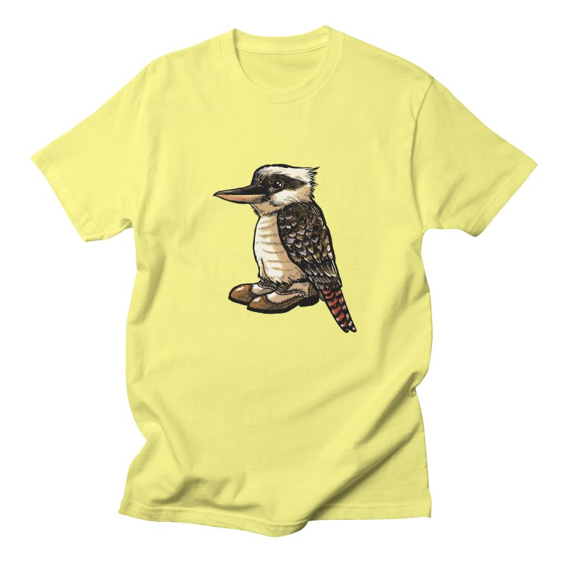 Kookaburra Women's Unisex T-Shirt by Simon Christopher Greiner