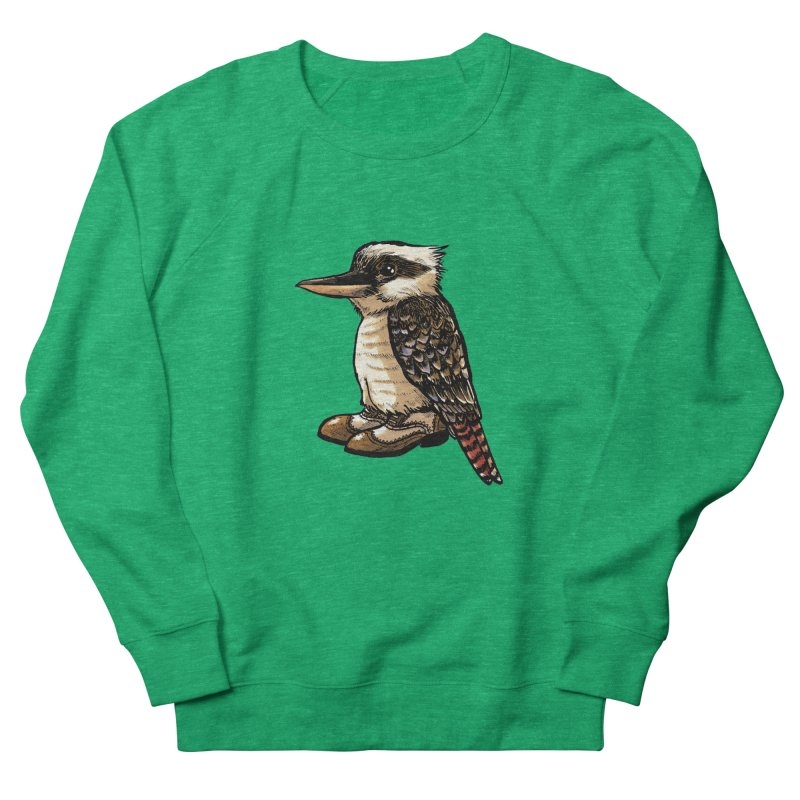 Kookaburra Women's Sweatshirt by Simon Christopher Greiner