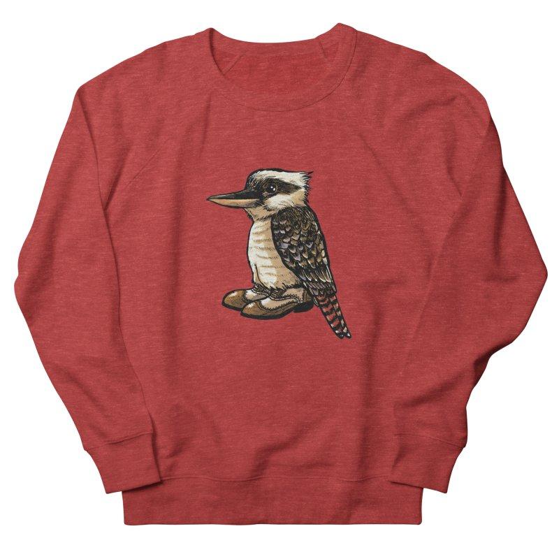 Kookaburra Women's French Terry Sweatshirt by Simon Christopher Greiner