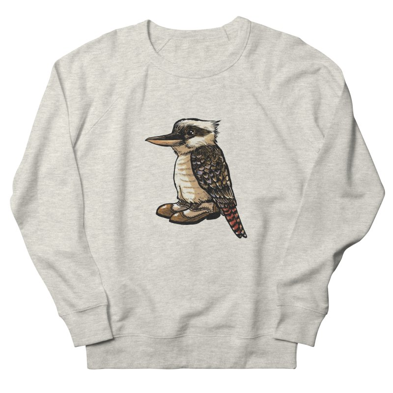 Kookaburra Women's French Terry Sweatshirt by Simon Christopher Greiner