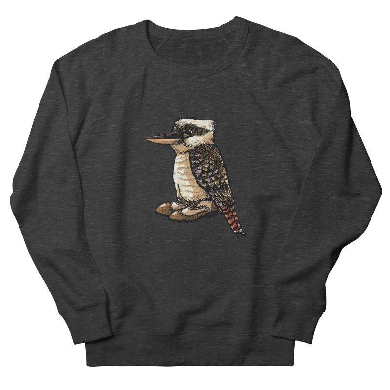 Kookaburra Men's French Terry Sweatshirt by Simon Christopher Greiner