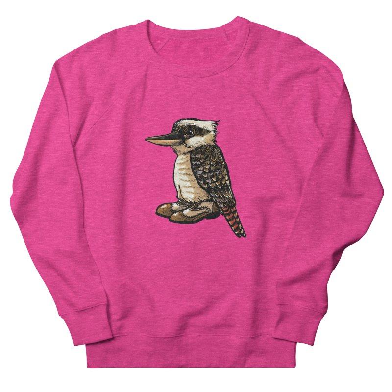 Kookaburra Men's French Terry Sweatshirt by Simon Christopher Greiner