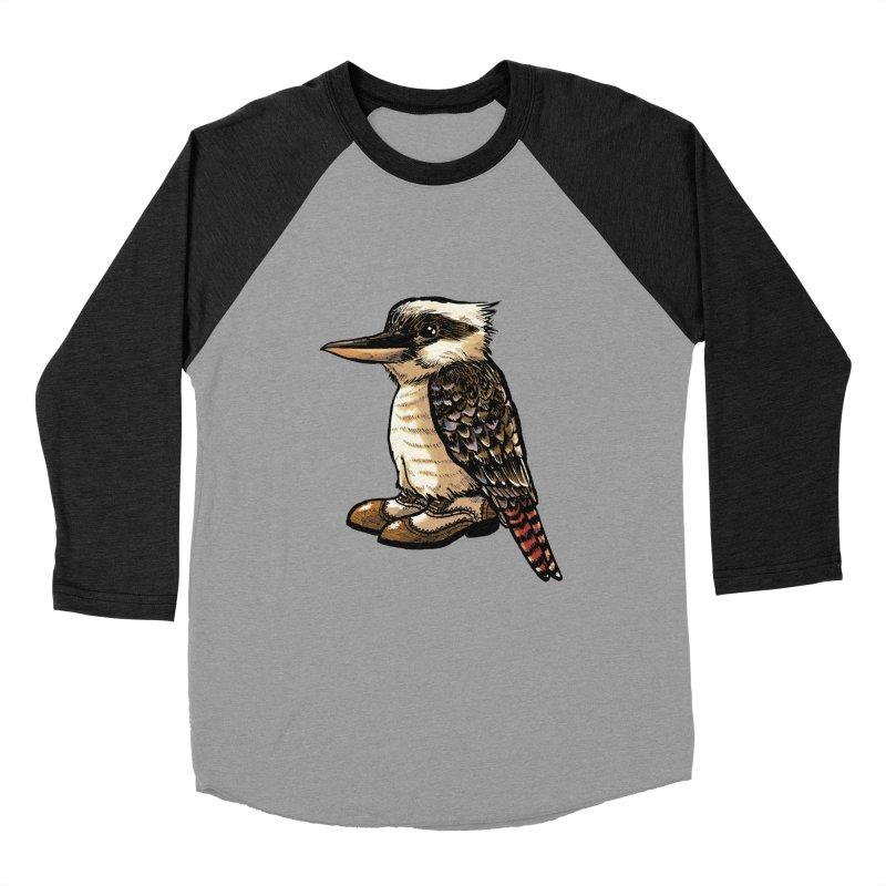 Kookaburra Women's Baseball Triblend T-Shirt by Simon Christopher Greiner