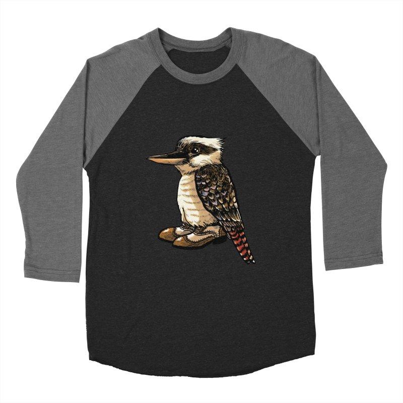 Kookaburra Men's Baseball Triblend T-Shirt by Simon Christopher Greiner