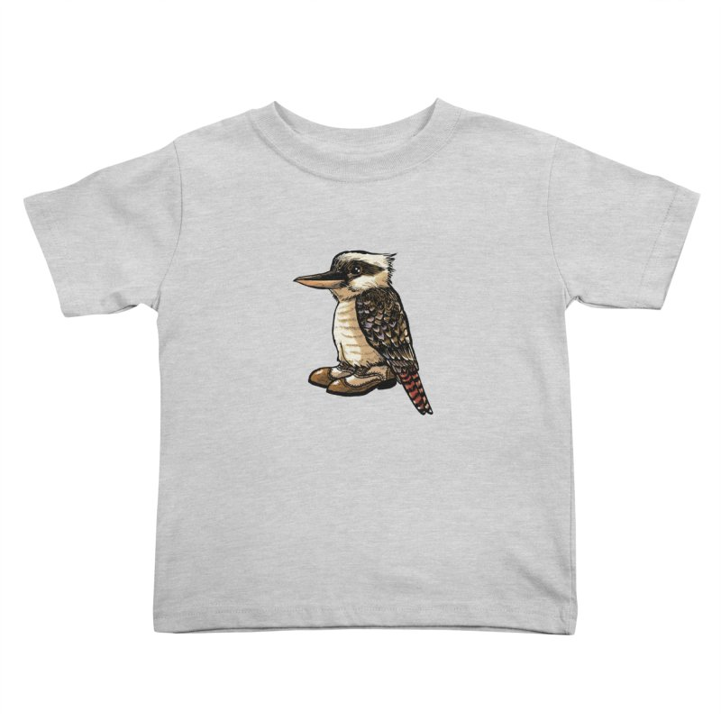 Kookaburra Kids Toddler T-Shirt by Simon Christopher Greiner