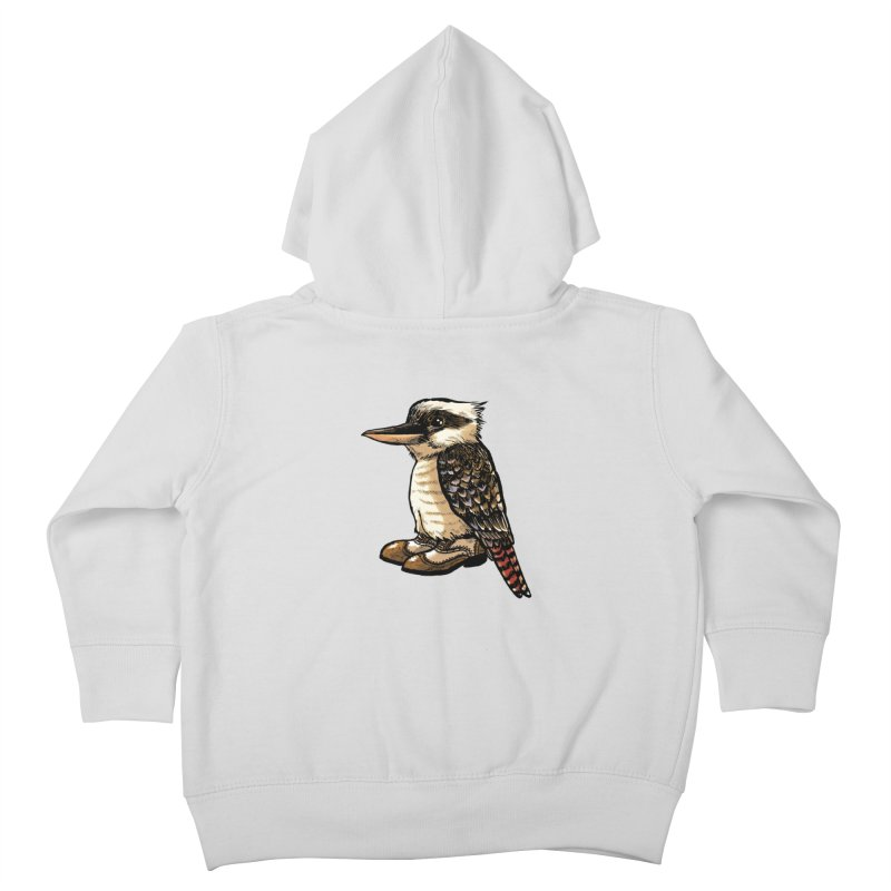 Kookaburra Kids Toddler Zip-Up Hoody by Simon Christopher Greiner