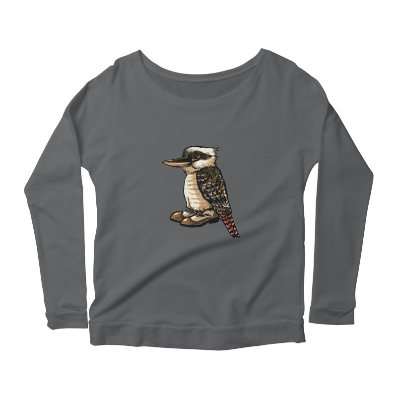 Kookaburra Women's Longsleeve T-Shirt by Simon Christopher Greiner