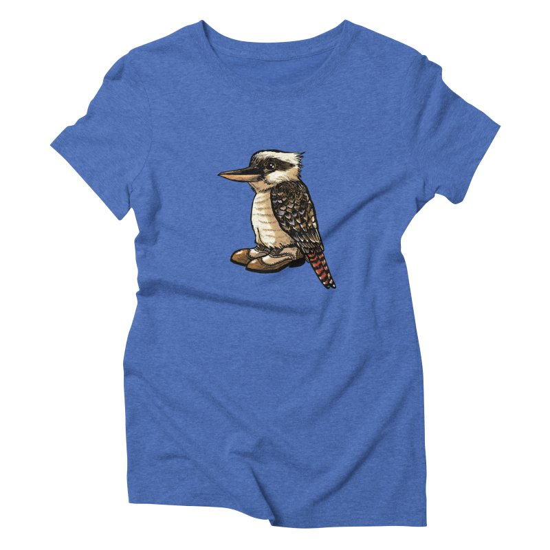 Kookaburra Women's Triblend T-Shirt by Simon Christopher Greiner