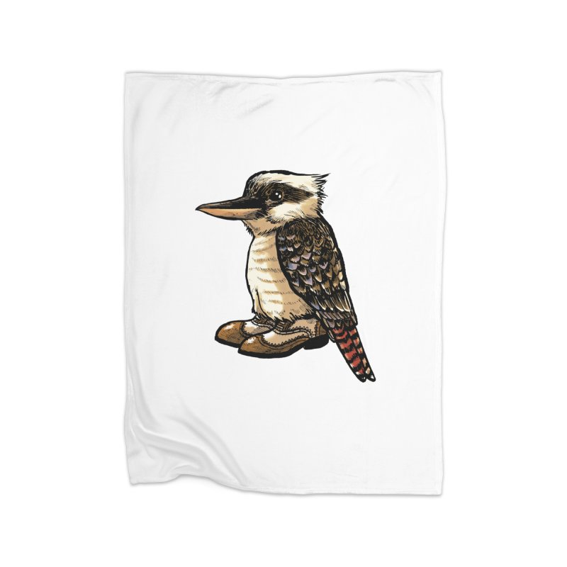 Kookaburra Home Blanket by Simon Christopher Greiner