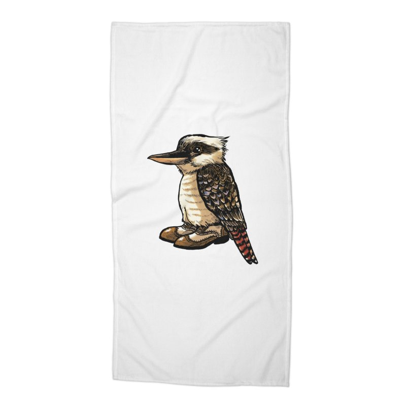 Kookaburra Accessories Beach Towel by Simon Christopher Greiner