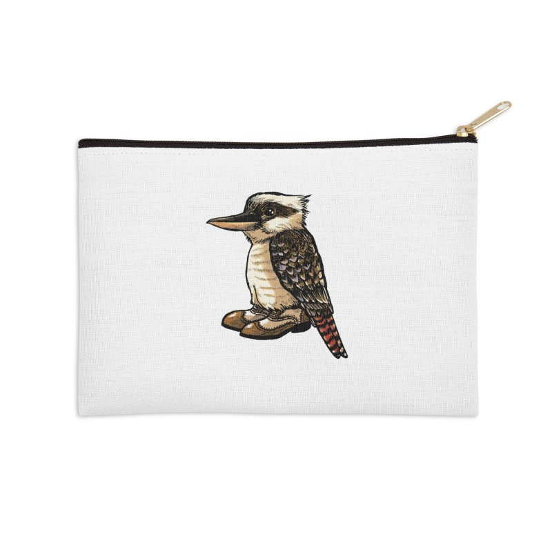 Kookaburra Accessories Zip Pouch by Simon Christopher Greiner