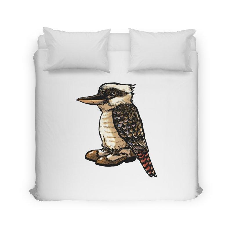 Kookaburra Home Duvet by Simon Christopher Greiner
