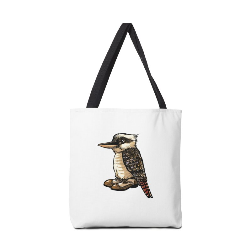 Kookaburra Accessories Bag by Simon Christopher Greiner