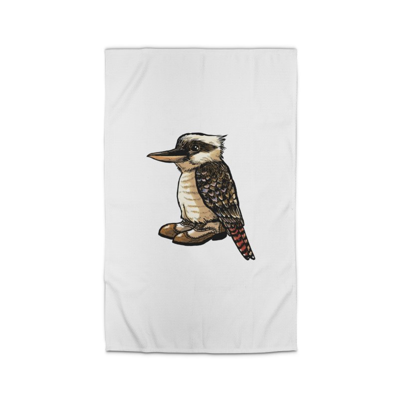 Kookaburra Home Rug by Simon Christopher Greiner